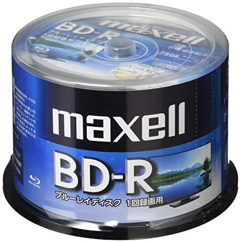 マクセル(maxell) 録画用 (1回録画用) BD-R 地上デジタル180分 BSデジタル130分 4倍速対応 インクジェット...
