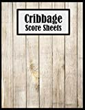 Cribbage Score Sheets: Perfect Score Keeper for Cribbage Games, Great size 8.5' x 11' with 118 Pages of Score Sheets