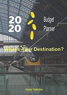 2020 Budget Planner: 7 Inch X 10 Inch - Budget Planner - Eurostar St Pancras Station Design - Useful Size - Cash Planner.