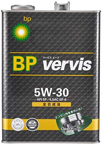 BP(ビーピー) エンジンオイル vervis (バービス) ムーブ 5W-30 4L 4輪ガソリン車専用全合成油 BP
