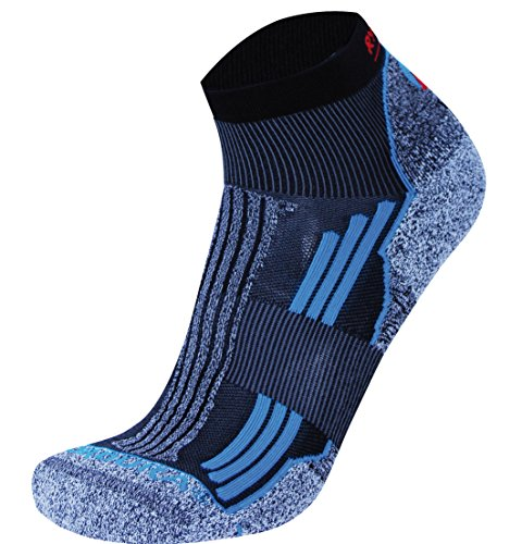 RYWAN No Limit Trail Laufsocken, Turquoise, 38-40