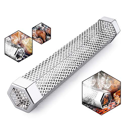 TINMIX Pellet Smoker Tube for Grilling
