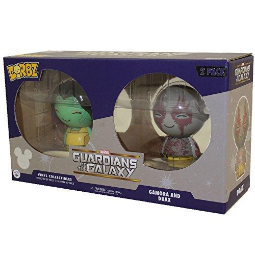 Funko Dorbz Figuras de vinilo – Guardianes de la galaxia – Gamora & Drax (paquete de 2) Exclusivo