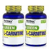 GREEN TEA L-CARNITINE | Acelera la termogénesis y el metabolismo - Pastillas para adelgazar - Quemagrasas (180 cápsulas)