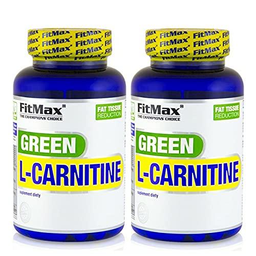 GREEN TEA L-CARNITINE   Acelera la termogénesis y el metabolismo - Pastillas para adelgazar - Quemagrasas (180 cápsulas)