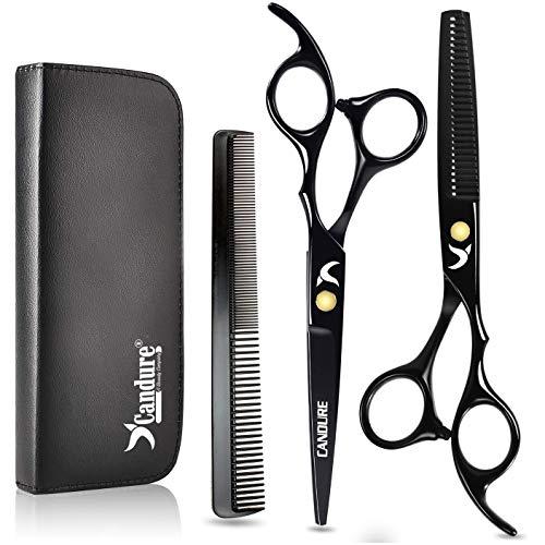 Friseurscheren - Haarscheren - Effilierschere Set 5.5