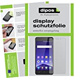 dipos I 2X Schutzfolie matt kompatibel mit Mobistel Cynus F10 Folie Bildschirmschutzfolie