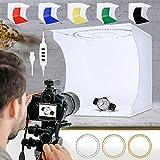 SLOW DOLPHIN 31cmPhoto Studio Light Box Ring Light 80pcs LED Lights Adjustable...