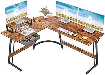 CubiCubi Modern L-Shaped Desk Computer Corner Desk