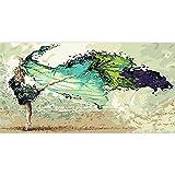 Kits de Pintura de Diamantes 5D DIY para Adultos bailarina abstracta Diamond Painting Square Diamante Bordado Punto de Cruz lienzo Artesanías Mosaico Home Wall Decoración Gifts(30x60cm,12x24in)