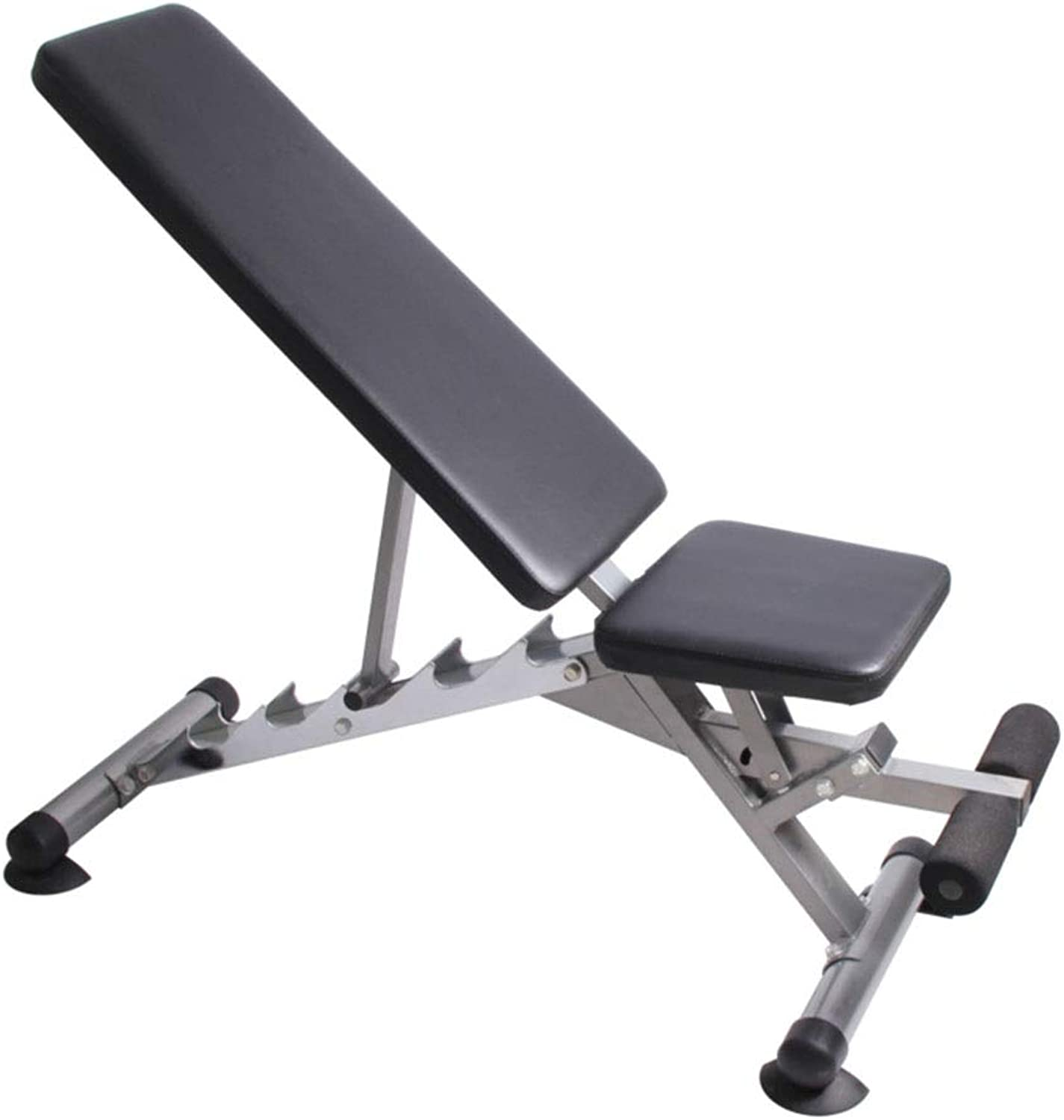 Heavy Duty Utility Weight Bench Adjustable for Unisex Adult, Sit Up AB Flat Incline Decline Bench, Home Gym Equipment