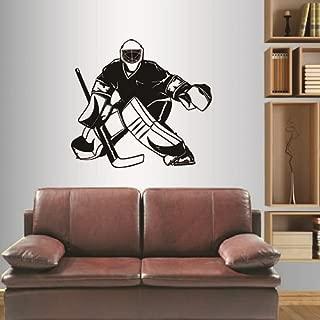 hockey rink wall mural