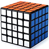 Cubo Magico 5x5 5x5x5 Speed Cube Puzzle Cubo de la Velocidad Niños Juguetes Educativos, Pegatinas de PVC