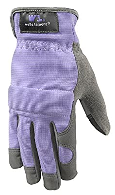 Wells Lamont Women's Synthetic Suede Leather Glove