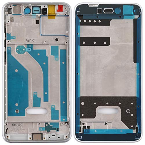 MCH Marco AYSMG Placa Media del Bisel con Teclas Laterales for Huawei Honor 8 Lite (Negro) (Color : White)
