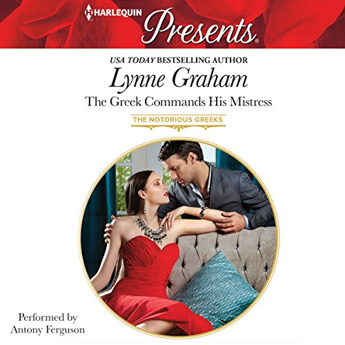 The Greek Commands His Mistress audiobook cover art