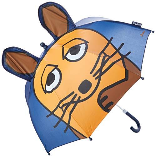 Playshoes Mädchen 3D Maus Regenschirm, marine, original