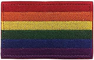 Antrix Rainbow Gay Pride LGBT Lesbian Peace Flag Hook & Loop Morale Badge Patches