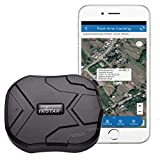 GPS Tracker, TKSTAR GPS Tracker for Vehicles Hidden Waterproof Realtime Car GPS Trackers Anti Theft Tracking Device with Magnet GPS Locator for Car Motorcycle Truck No Monthly Fee, TK905