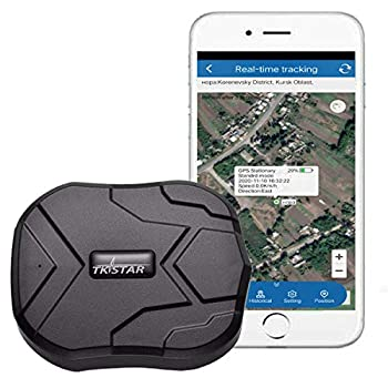 GPS Tracker TKSTAR GPS Tracker for Vehicles Hidden Waterproof Realtime Car GPS Trackers Anti Theft Tracking Device with Magnet GPS Locator for Car Motorcycle Truck No Monthly Fee TK905