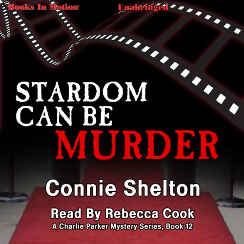 Stardom Can Be Murder audiobook cover art