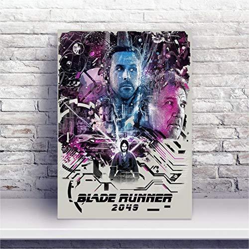 Placa MDF Blade Runner 2049 cartaz filme