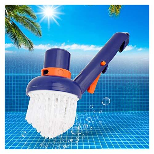 Piscina Aspiradora Piscina Paso Esquina Cepillo de vacío Bañeras de hidromasaje Cepillos de limpieza Cerdas de nylon Piscina Cepillo de vacío Limpiador de piscinas Para piscinas en el suelo, piscinas
