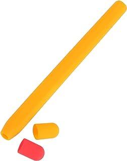 Hemobllo Kompatybilny pisak 2 generacja etui silikonowe uchwyt tuleja uchwyt osłona sprężyny Touch Pen akcesoria pomarańczowy