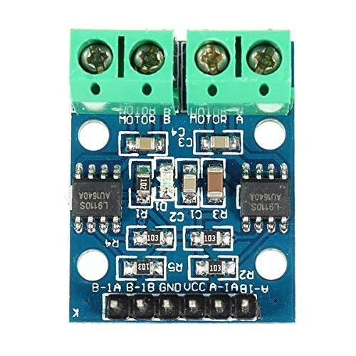 QIBIN Digitaler Temperaturregler L9110S H Stepper Motor Dual DC Driver Controller Modul für A-r-d-u-i-n-o - Produkte, die mit offiziellen A-r-d-u-i-n-o Boards funktionieren, 5 Stück bequem