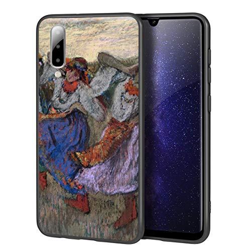 Berkin Arts Edgar Degas Custodia per Samsung A50/A50S/A30S/Custodia per Cellulare Art/Stampa giclée UV sulla Cover del Telefono(Ruso Bailarines)