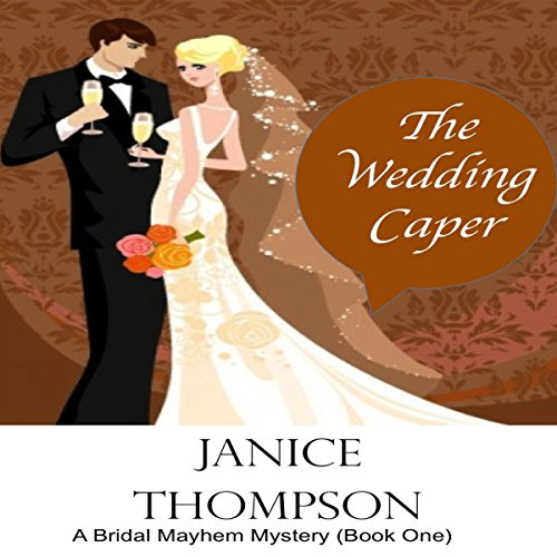 The Wedding Caper audiobook cover art