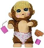 Animal Babies Feature Jumping Lil Monkeys Girl Plush