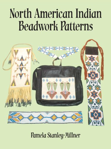 North American Indian Beadwork Patterns (English Edition)