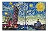Promini Mystic, Connecticut - Starry Night - 1000 Piece Jigsaw Puzzles for Adults Kids, Puzzles for Toddler Children Learning Educational Puzzles Toys for Boys and Girls 20' x 30'