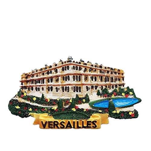 Aimant de réfrigérateur 3D Versailles Paris France, souvenir de Paris pour décoration de la maison et de la cuisine