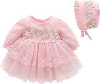 iLOOSKR Infant Baby Girls Clothes Lace Tutu Princess Dress Outfits Skirt 0-18M