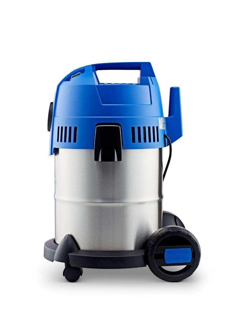 Nilfisk Aspirador de Bricolaje Buddy II 18 INOX, con o sin Bolsa, 18 litros, 74 Decibelios, Azul/Gris: Amazon.es: Bricolaje y herramientas
