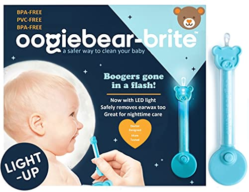 oogiebear Brite - Baby Nose Cleaner and Ear Wax Removal Tool. Baby...