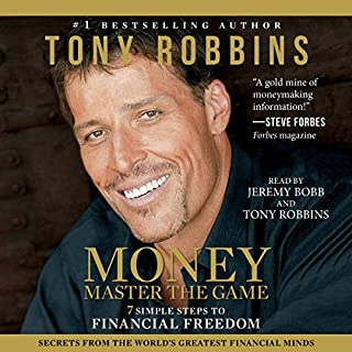 MONEY Master the Game audiobook cover art