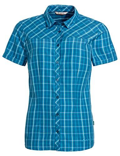 VAUDE Damen Bluse Women's Tacun Shirt II, Kingfisher, 44, 42229
