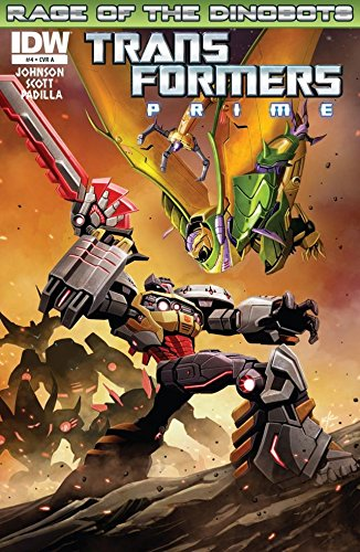 Transformers: Prime - Rage of the Dinobots #4 (of 4) (English Edition)