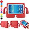 Samsung Galaxy Tab 3 Case Tab 3 Lite Case for kids Durable Silicone Shock Proof Protective Cases with Carrying Handles