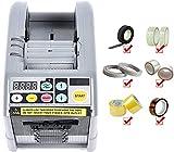 Dispenser Nastro Adesivo,BITOWAT Display Digitale a LED, Uso Ufficio, Adatto per Nastro Biadesivo, Tessuto di Vetro, Foglio di Rame, Etichette con Codici a Barre