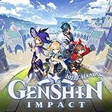 Genshin Impact Calendar 2022: OFFICIAL game calendar. This incredible cute calendar july 2021 to december 2022 with high quality pictures . Gaming calendar 2021-2022 . Calendar video games
