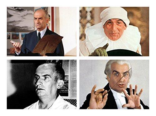 Capricci Italiani Lot de 4 Sets de Table Louis de Funes