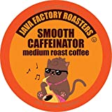 Java Factory Coffee Pods Medium Roast Coffee for Keurig K Cup Brewers, Smooth Caffeinator, 80 Count