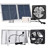 Best Solar Attic Fans - Pumplus Powerful 30W Solar Powered Attic Fan System Review