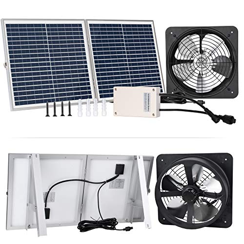 solar powered attic fan - 4