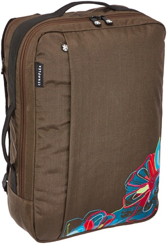 Crumpler Miss D. Flower Backpack - 15' - Zaino donna per laptop - Espresso - MDF-BP15-002