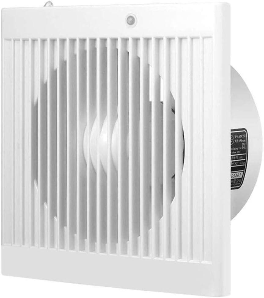 RJSODWL Extractor - Silent Fan Extintor Baño Potente ventilación 6 Pulgadas